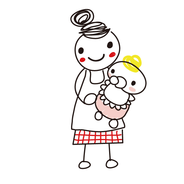 子育て中の主婦