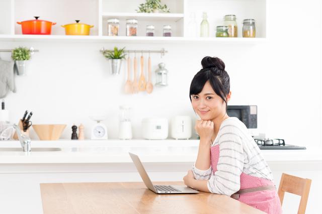 家事の合間に記事を書く