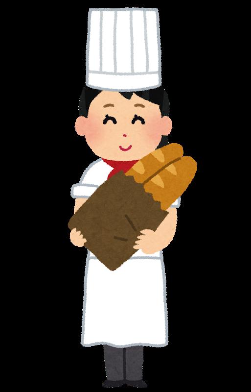 パン屋さんでパートタイムで働く主婦